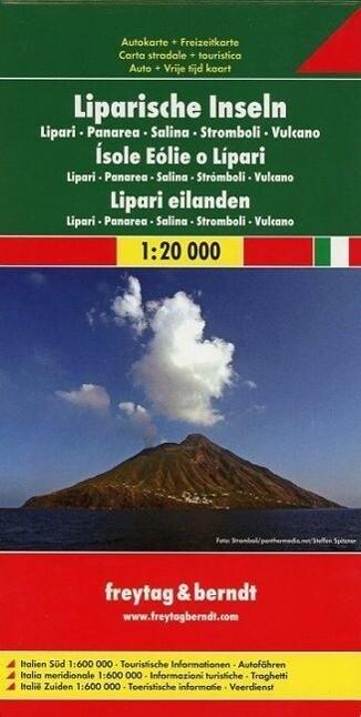 Liparische Inseln 1 : 20 000 als Buch