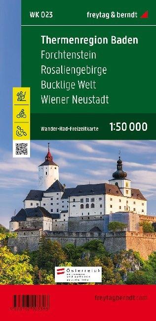 Rosaliengebirge, Hohe Wand, Forchtenstein, Thermenregion, Wiener Neustadt 1 : 50 000. WK 023 als Buch