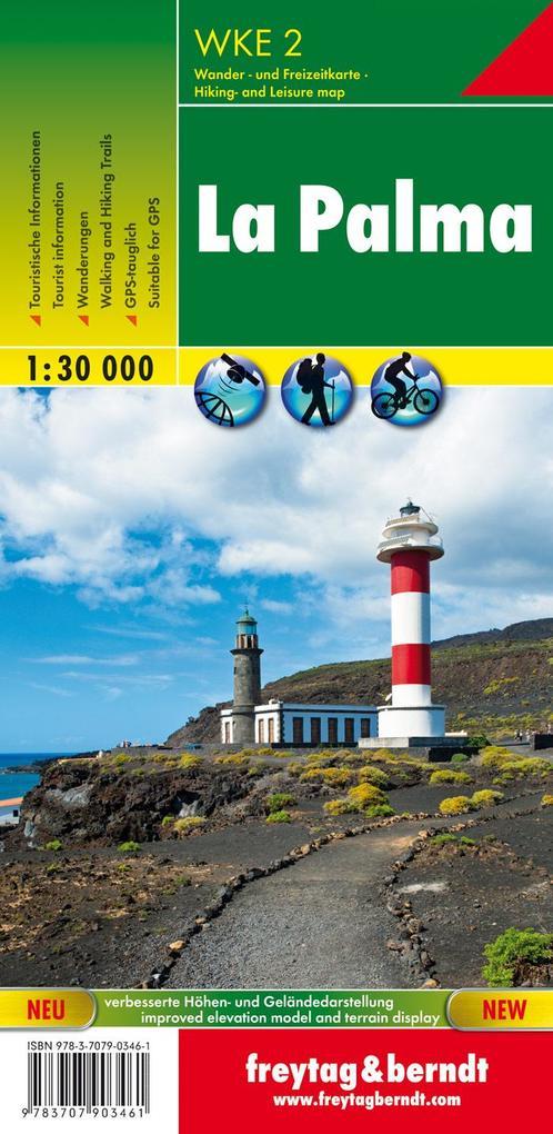 La Palma 1 : 30 000. Wander- und Freizeitkarte als Buch