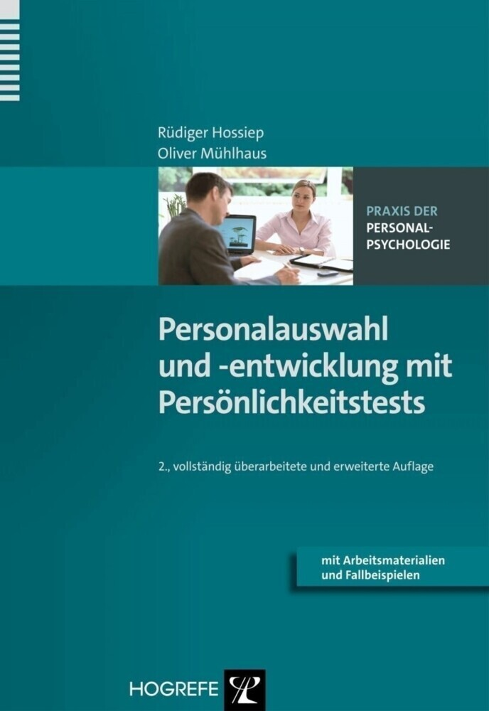 Personalauswahl und -entwicklung mit Persönlichkeitstests als Buch