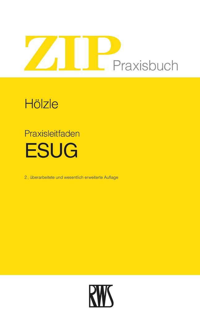 Praxisleitfaden ESUG als eBook