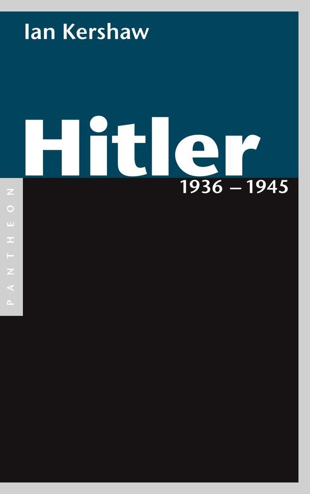 Hitler 1936 - 1945 als eBook