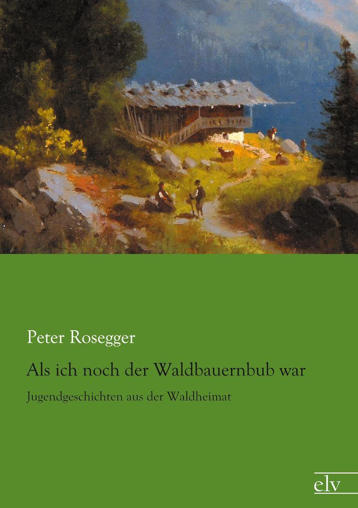 Als ich noch der Waldbauernbub war als Buch von Peter Rosegger