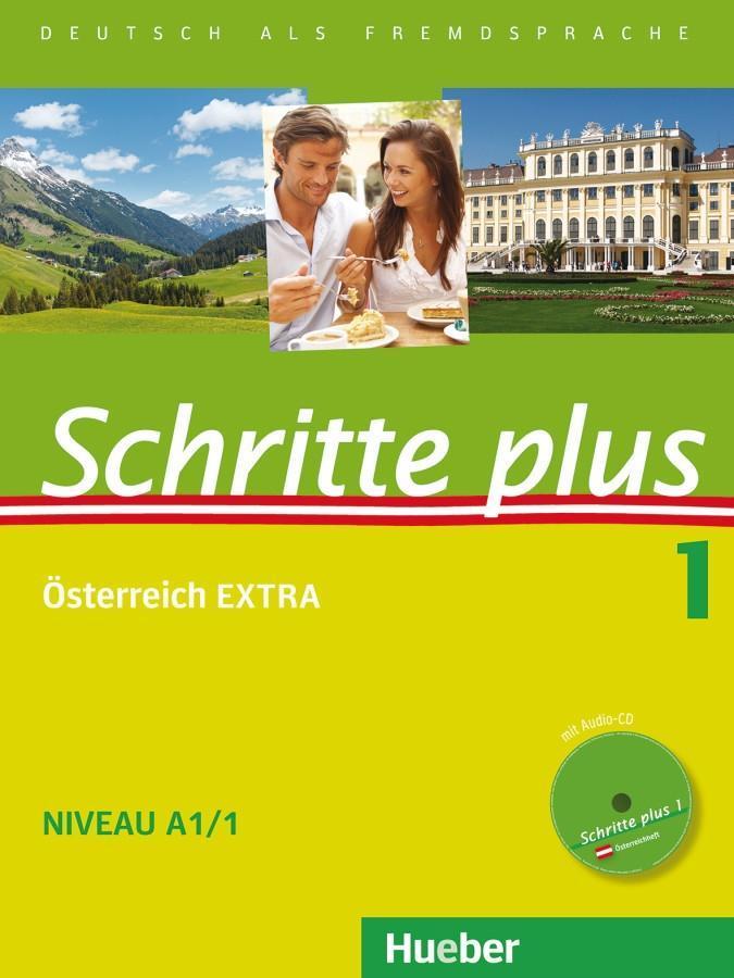 Schritte plus 01. Kursbuch + Arbeitsbuch + Österreich EXTRA mit Audio-CD als Buch