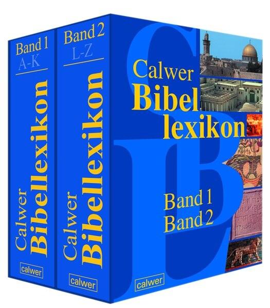 Calwer Bibellexikon.Band 1 und 2 als Buch