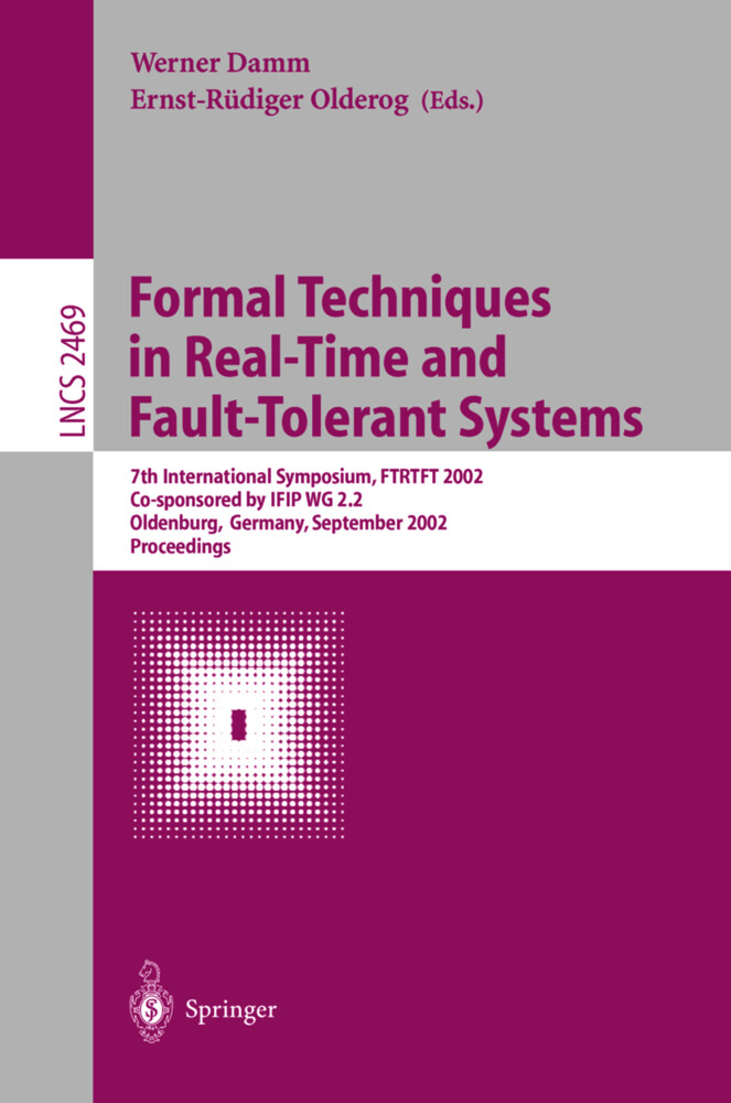 Formal Techniques in Real-Time and Fault-Tolerant Systems als Buch