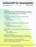 Zeitschrift für Anomalistik 3. Nr. 1/2 als Buch