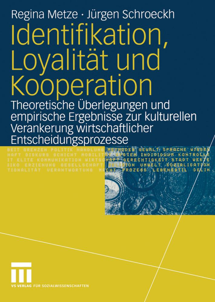Identifikation, Loyalität und Kooperation als Buch