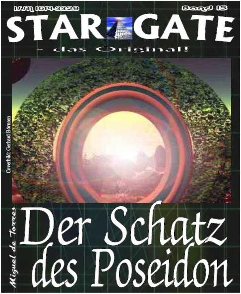 STAR GATE 015: Der Schatz des Poseidon als eBook epub