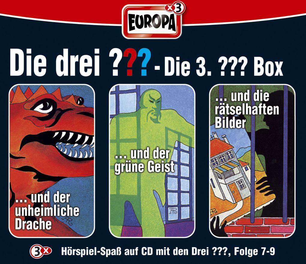 Die drei ??? Box 03. Folgen 7-9 (drei Fragezeichen). 3 CDs als Hörbuch