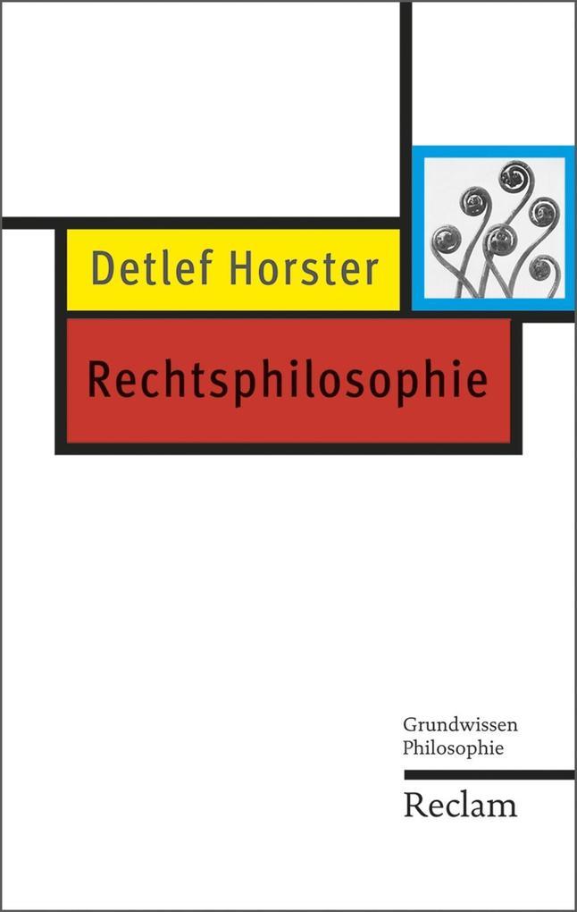 Rechtsphilosophie als eBook
