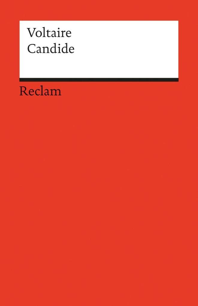 Candide ou l'Optimisme als eBook von Voltaire