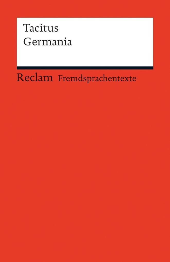 Germania als eBook von Tacitus