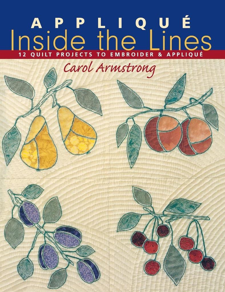 Applique Inside the Lines - Print on Demand Edition als Taschenbuch