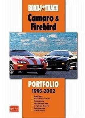 """""""Road and Track"""" Camaro and Firebird Portfolio 1993-2002 als Taschenbuch"""