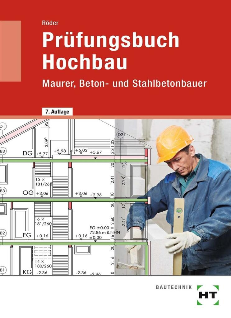 Prüfungsbuch Hochbau als Buch
