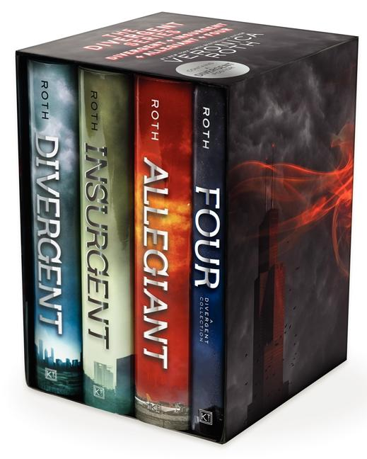 Divergent Series Complete Four-Book Box Set als Buch von Veronica Roth