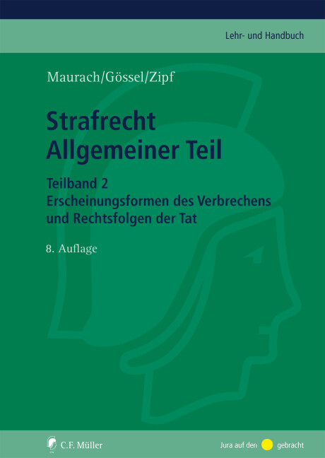 Strafrecht Allgemeiner Teil. Teilband 2 als Buch