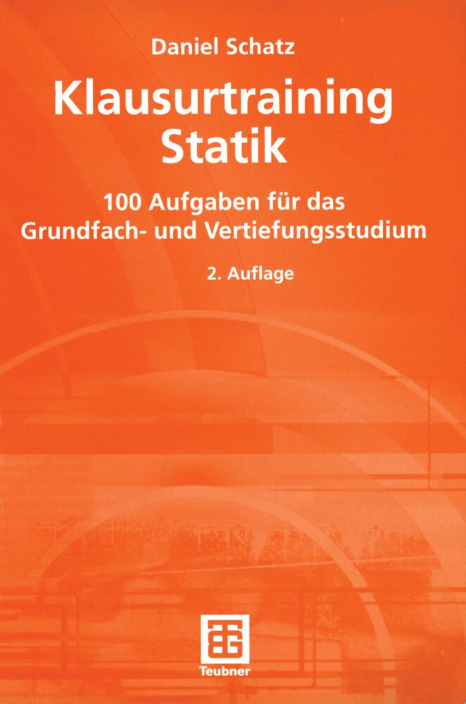 Klausurtraining Statik als Buch