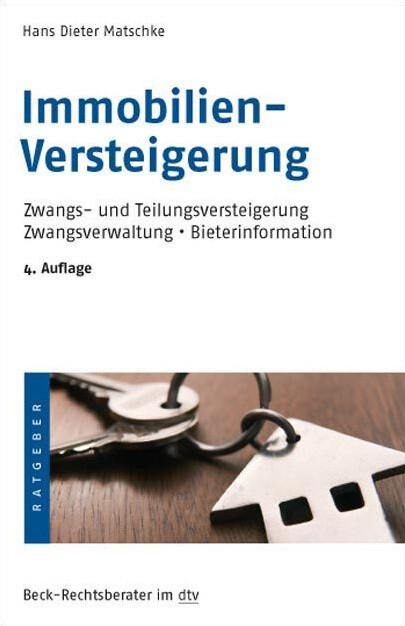 Immobilien-Versteigerung als Taschenbuch