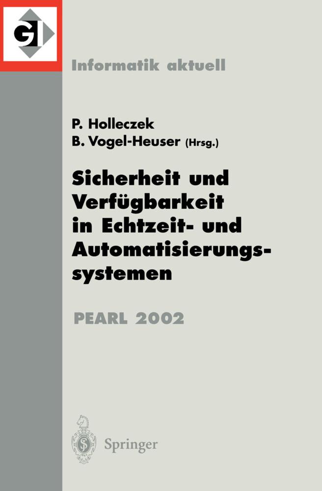 Sicherheit und Verfügbarkeit in Echtzeit- und Automatisierungssystemen als Buch