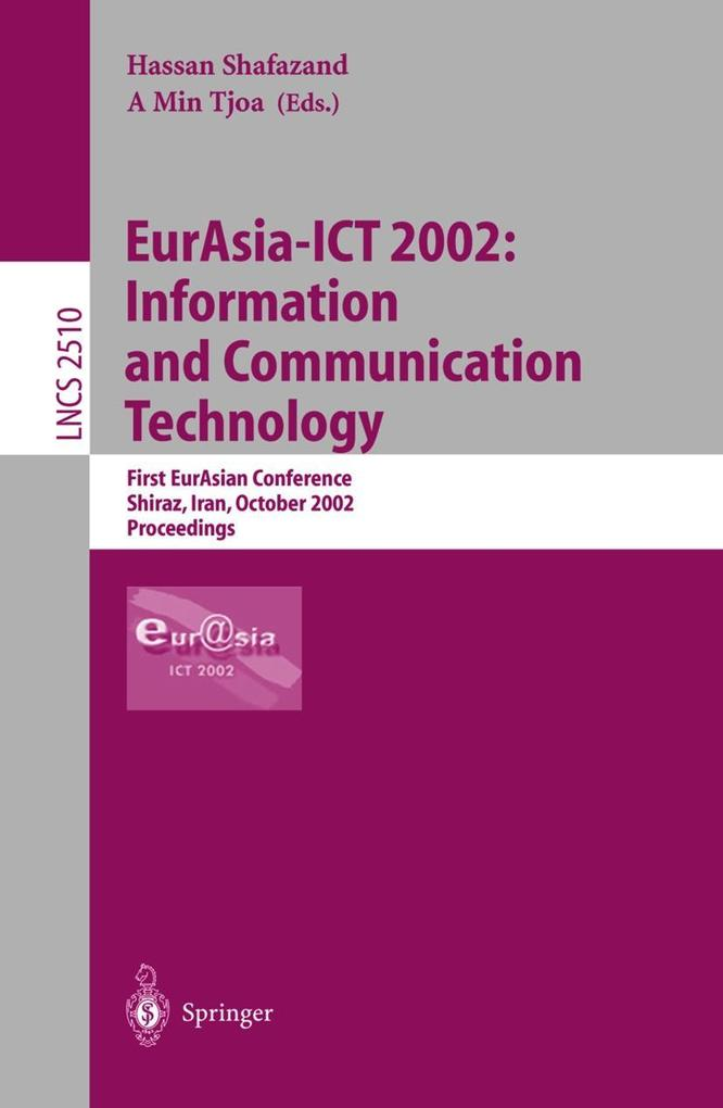 EurAsia-ICT 2002: Information and Communication Technology als Buch