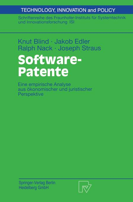 Software-Patente als Buch
