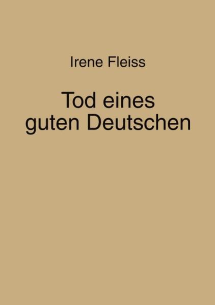 Tod eines guten Deutschen als Buch
