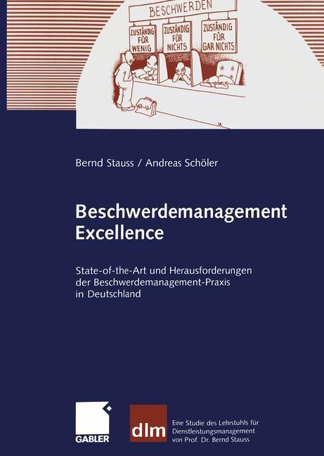 Beschwerdemanagement Excellence als Buch