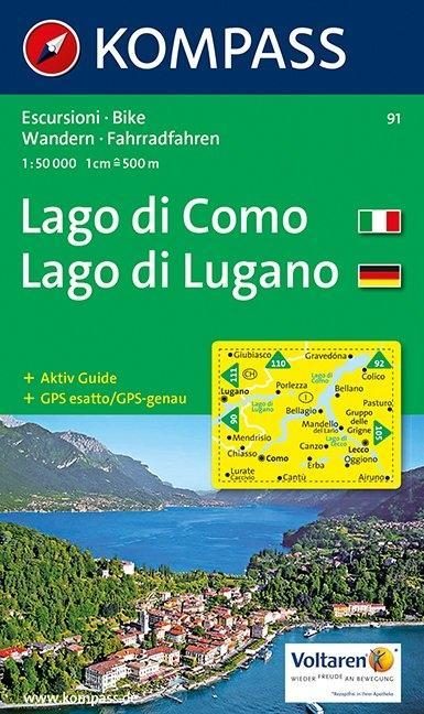 Lago di Como / Lago di Lugano 1 : 50 000 als Buch