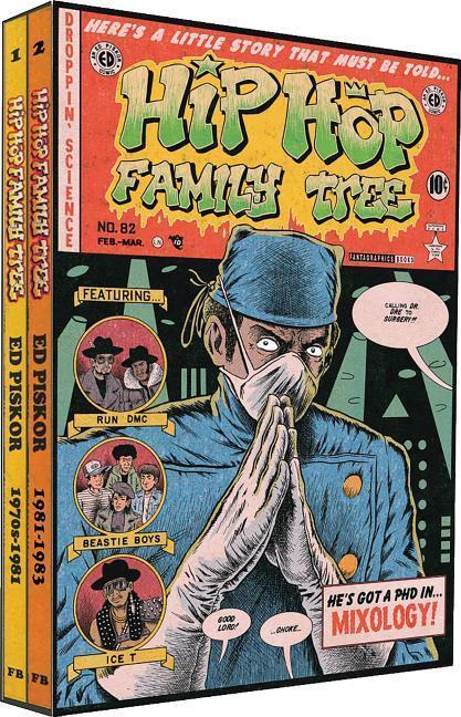 Hip Hop Family Tree 1975-1983 Gift Box Set als Buch von Ed Piskor