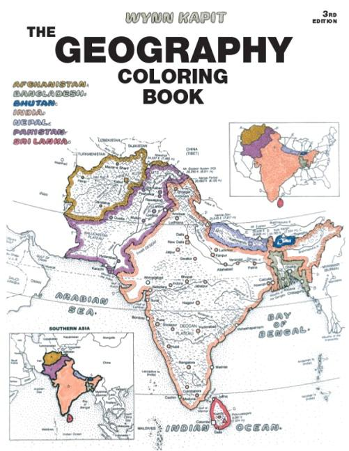 The Geography Coloring Book als Taschenbuch