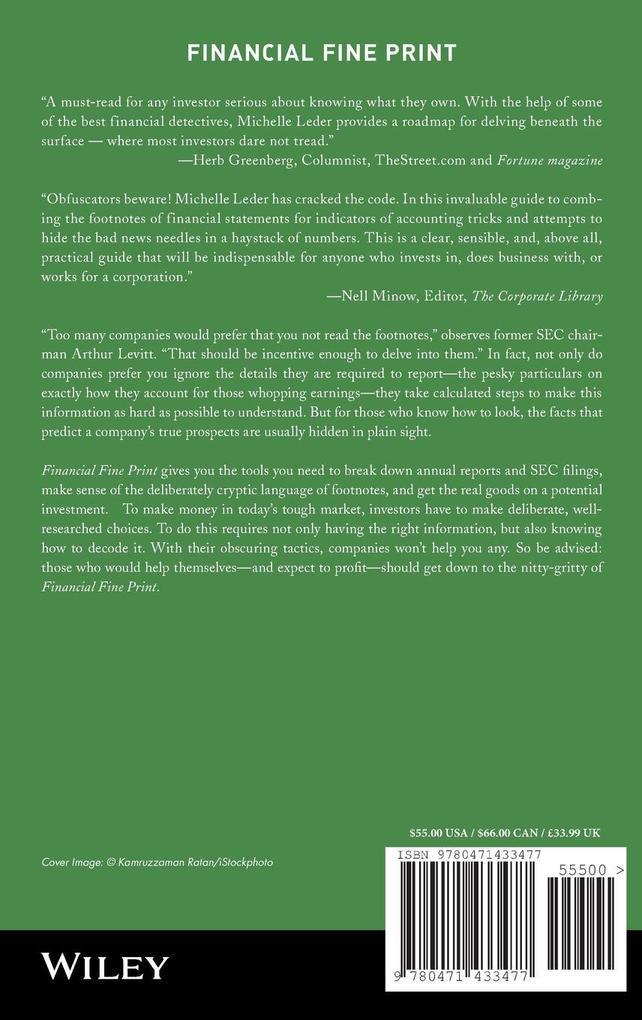Financial Fine Print als Buch (gebunden)