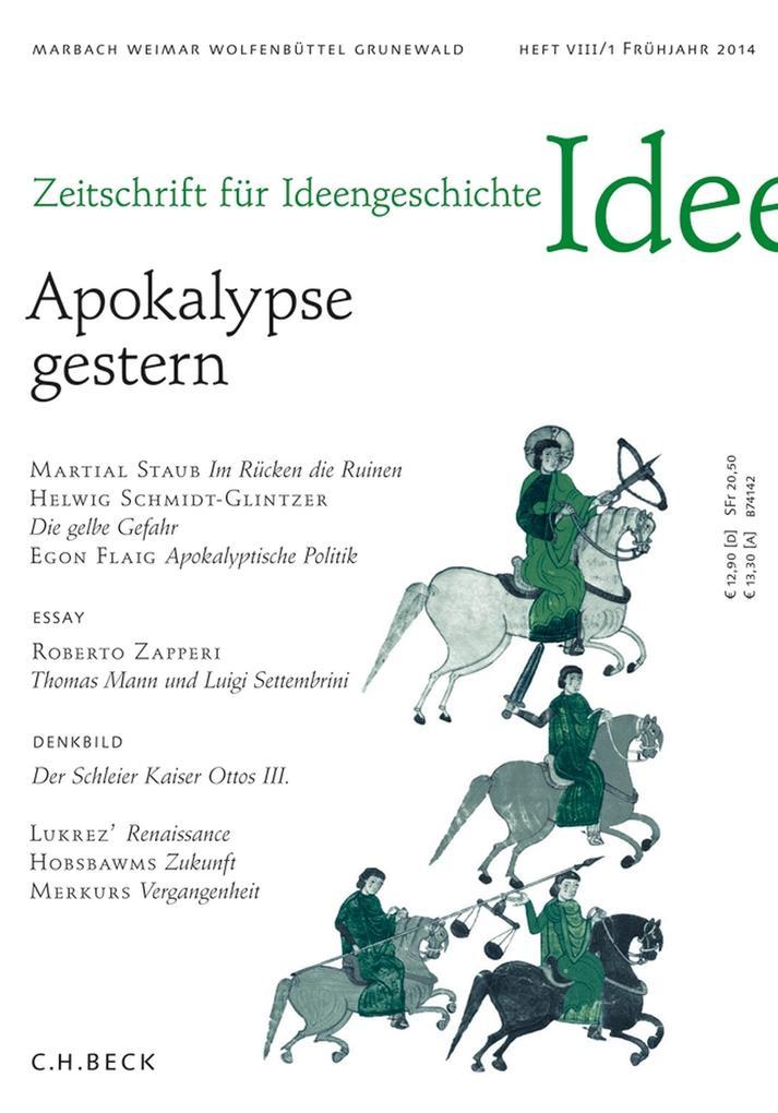 Zeitschrift für Ideengeschichte Heft VIII/1 Frühjahr 2014 als eBook
