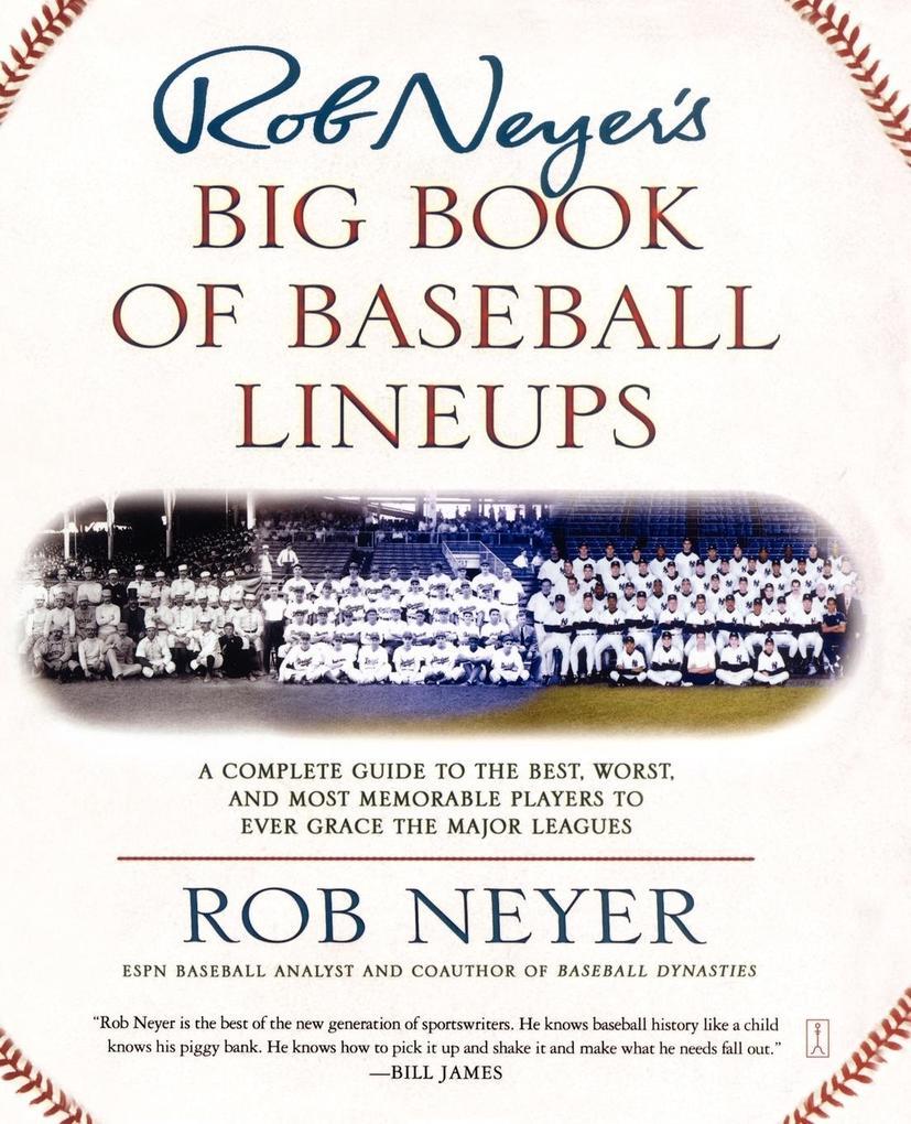 Rob Neyer's Big Book of Baseball Lineups als Taschenbuch