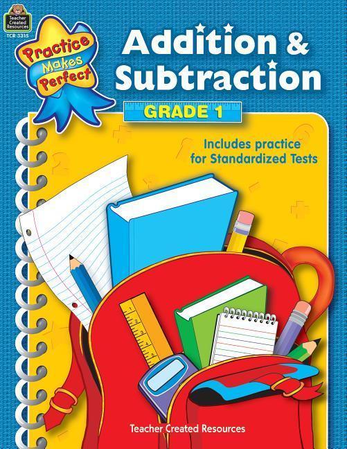 Addition & Subtraction Grade 1 als Taschenbuch