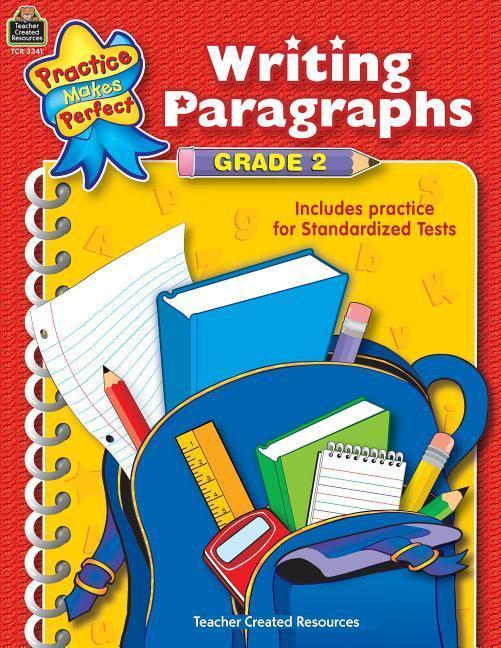 Writing Paragraphs Grade 2 als Taschenbuch