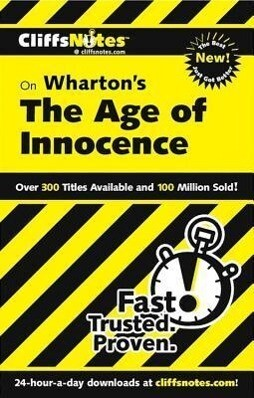 CliffsNotes on Wharton's The Age of Innocence als Buch