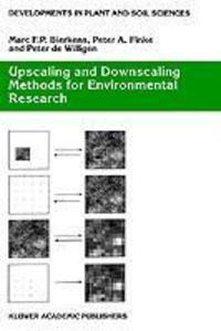 Upscaling and Downscaling Methods for Environmental Research als Buch