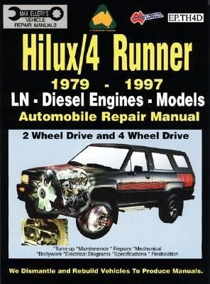 Toyota Hilux/4 Runner Diesel 1979-1997 Auto Repair Manual-Ln, Diesel Eng 2 & 4 Wheel Drive als Taschenbuch