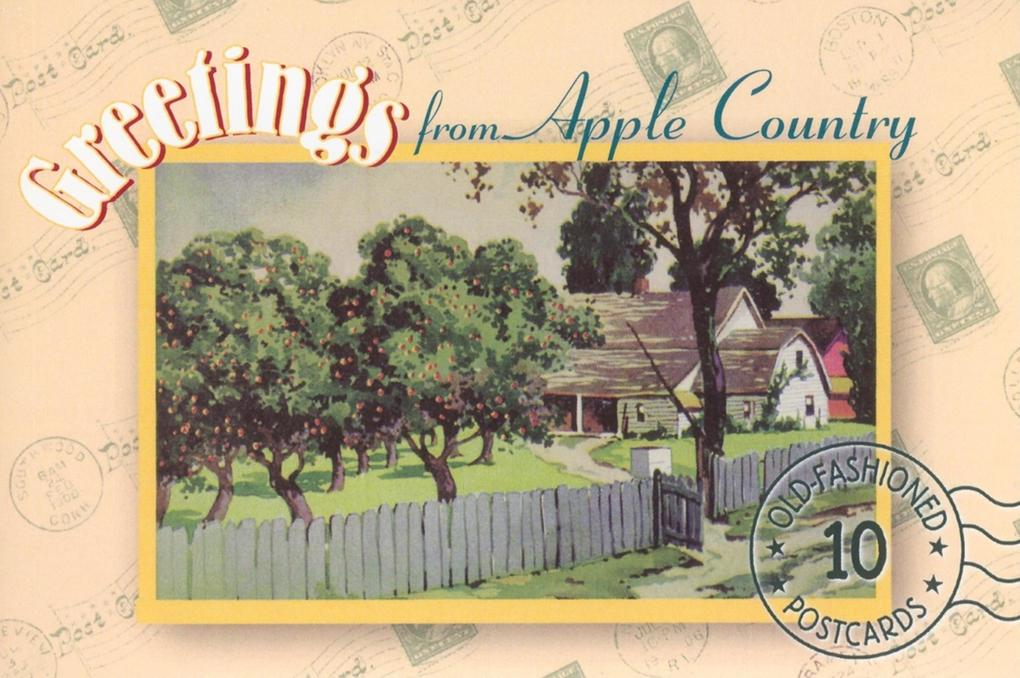 Greetings from Apple Country: A Postcard Book als Taschenbuch