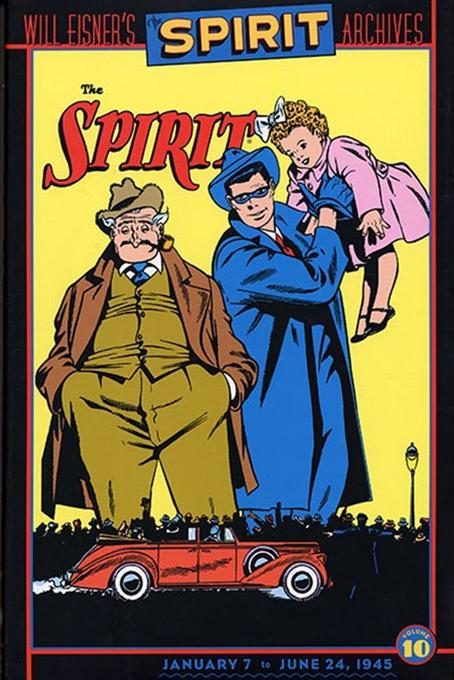 Will Eisners Spirit Archives HC Vol 10 als Buch