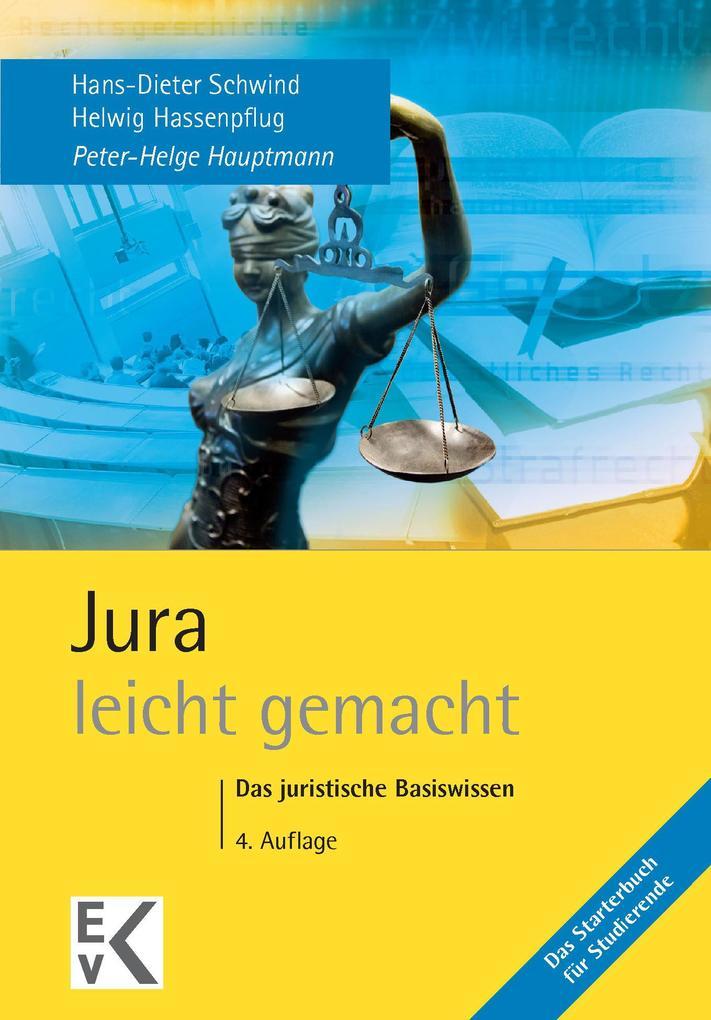 Jura - leicht gemacht als eBook von Peter-Helge Hauptmann