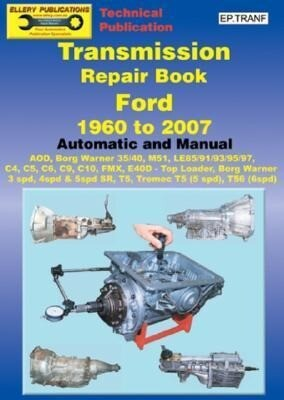 Transmission Repair Book 1960 to 2007: Automatic and Manual als Taschenbuch