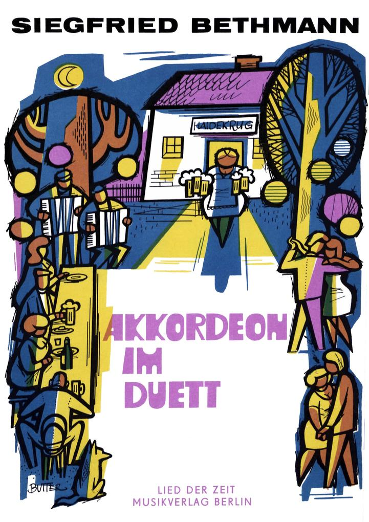 Akkordeon im Duett als eBook
