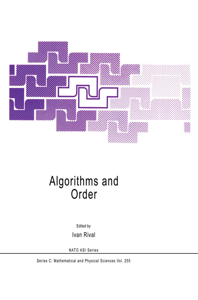 Algorithms and Order als Buch