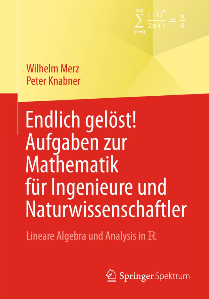 Endlich gelöst! Aufgaben zur Mathematik für Ingenieure und Naturwissenschaftler als Buch