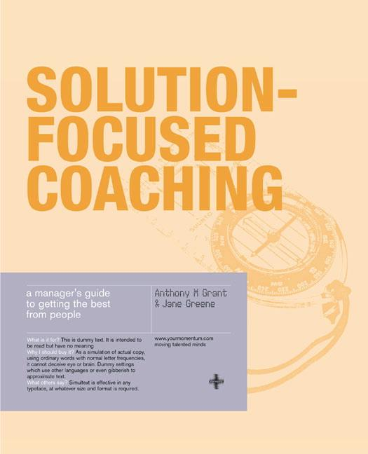 Solution-Focused Coaching als Buch