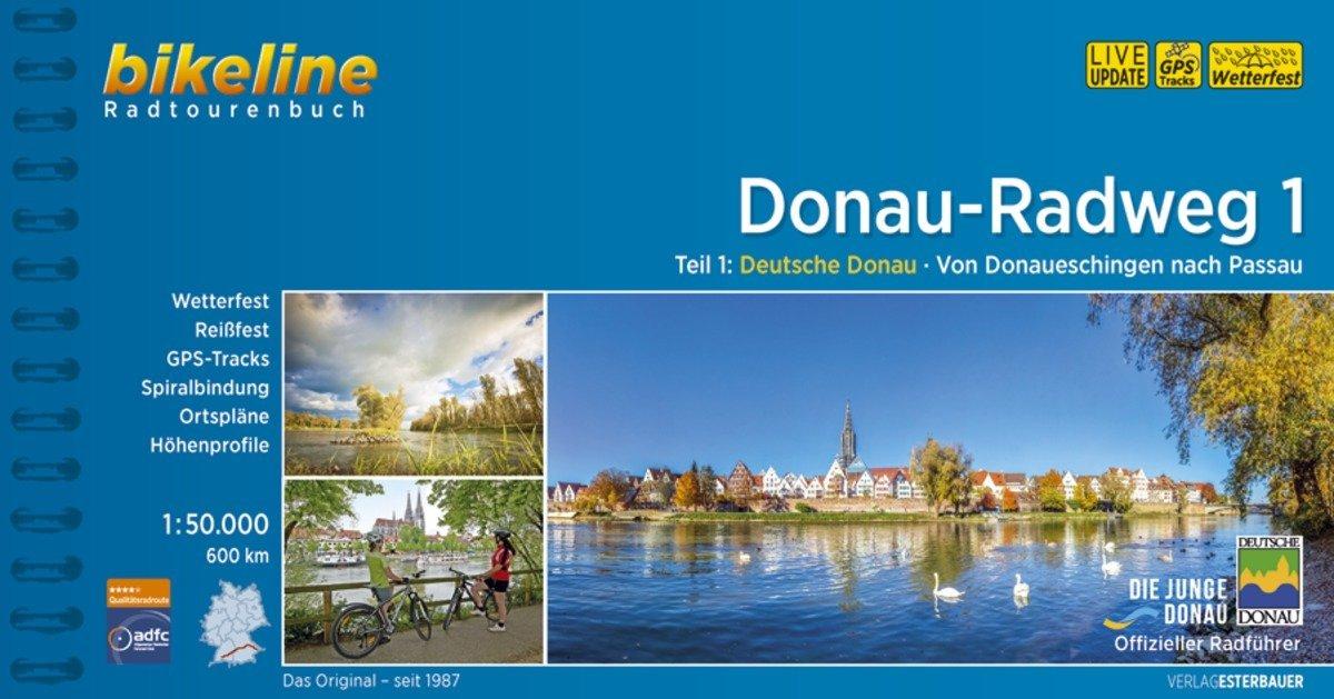 Bikeline Radtourenbuch Donau-Radweg 1 als Buch