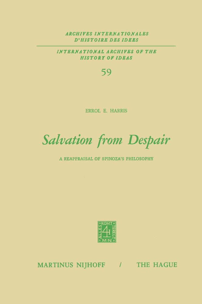 Salvation from Despair als Buch